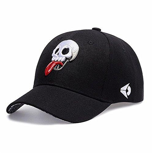Mujer Gorra De Ajustable del Moda Los Hop Hip Estilo Óseo De La Cráneo Llxln Esqueleto Hombres Béisbol Bordado Sombrero De Tapas De Lienzo Cd0gqRw