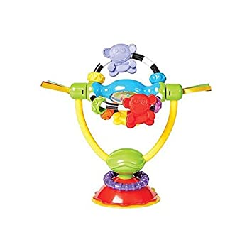 Playgro 0182212 Baby High Chair Spinning Toy for baby infant toddler children STEM for a  sc 1 st  Amazon.com & Amazon.com : Playgro 0182212 Baby High Chair Spinning Toy for baby ...