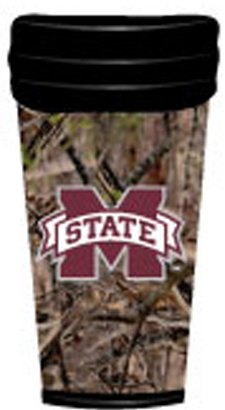NCAA Mississippi State Bulldogs Coffee Tumbler Camo
