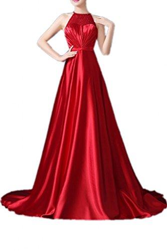 Promgirl House - Robe - Trapèze - Femme rouge rot -  rouge - 50