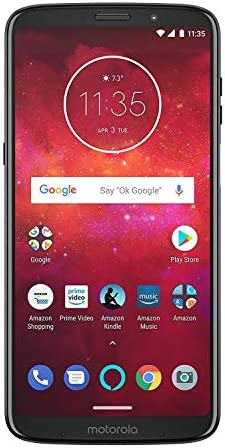 Motorola Z3 Play 32GB Unlocked (AT&T/Sprint/T-Mobile/Verizon) (Deep Indigo)