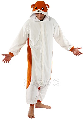[Hamster Kigurumi (Adults)] (The Best Halloween Costumes Ever Made)