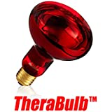 TheraBulb NIR-A Near Infrared Silicone Coated Safety Bulb - Small Form 150 Watt