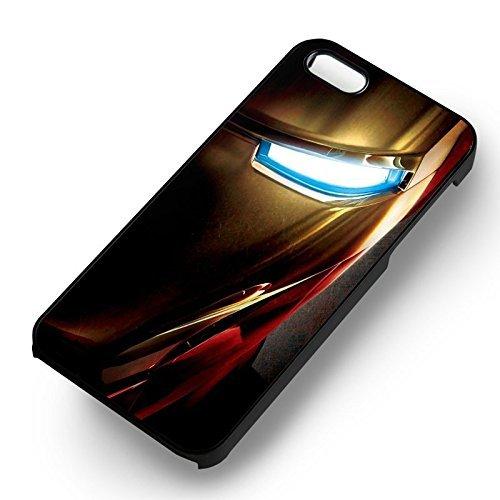 The Avengers ironman mask pour Coque Iphone 6 et Coque Iphone 6s Case (Noir Boîtier en plastique dur) J2X1XF