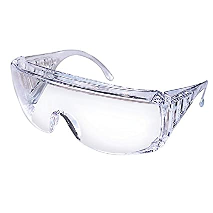 968e45869636 Safety Works 817691 Over Economical Safety Glasses, Clear - - Amazon.com