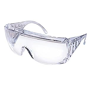 Safety Works 817691 Over Economical Safety Glasses, Clear ...