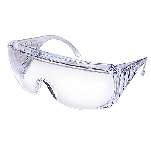 Safety Works 817691 Over Economical Safety Glasses, Clear