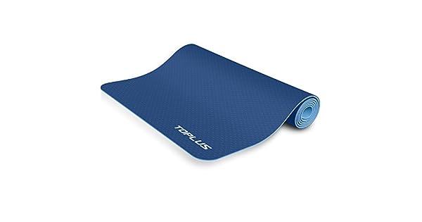 Amazon.com: TOPLU - Alfombrilla de yoga antideslizante con ...