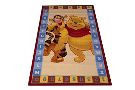 ABC Tappeti Carpet Winnie The Pooh 80 x 140 cm Brown