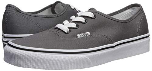 Vans Men's VANS AUTHENTIC SKATE SHOES Men 6.5/Women 8 - Pewter-Black