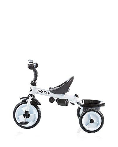 Chipolino Triciclo con toldo, Modelo Primus, color blanco: Amazon.es: Bebé