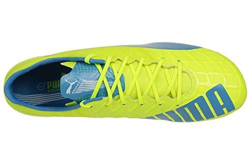 1 Evospeed Scarpe da 04 white atomic Uomo Calcio safety FG blue Puma yellow 4 wIq4Oqd5
