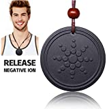 Product review for Scalar Energy EMF Protection Anti Radiation Pendant Negative Ions Balance Power necklace (black)