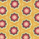 MODA37023-14 Salt Air by Moda, Coral Blooms on Sunshine