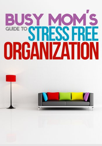 The Busy Mom's Guide To Stress Free Organization: How To Organize, Clean, And Keep Your Home Stress Free