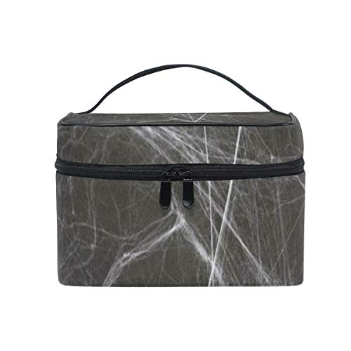 Toiletry Bag Halloween Spider Womens Beauty Makeup Case Brush Cosmetic Organizer -