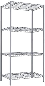 Details about  /Heavy Duty 4 Tier Wire Shelving Kit 915x610mm Stainless Steel Commercial Shelve