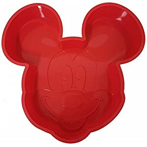 Disney Mickey Mouse Cake Pan Non-Stick Silicone Large