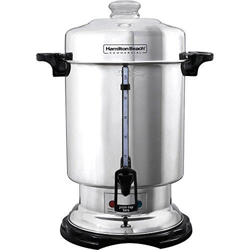 Hamilton Beach D50065 Coffee Urn - 1000 W - 60 Cup - Stainle