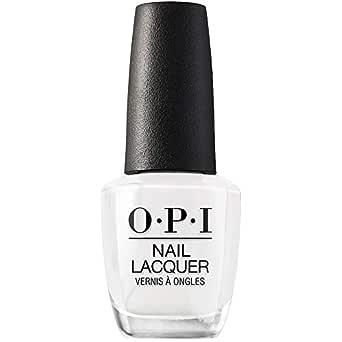 OPI Nail Polish, Nail Lacquer, White Nail Polish, 0.5 fl oz