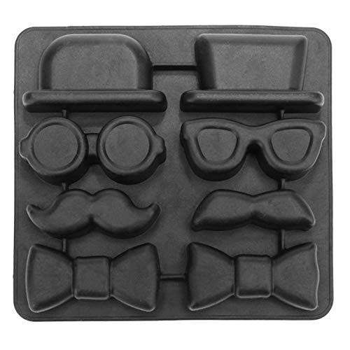 Ice Cube Trays - Skull Ice Cube Tray Mold Ice Cube Maker Silicone Halloween Skull Shaped Chocolate Candy Mould Whisky Wine Bar Party Supplies -