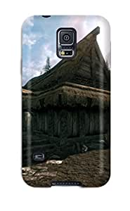 Galaxy High Quality Tpu Case/ Skyrim Video Game QkSPNMk7028hOGIW Case Cover For Galaxy S5