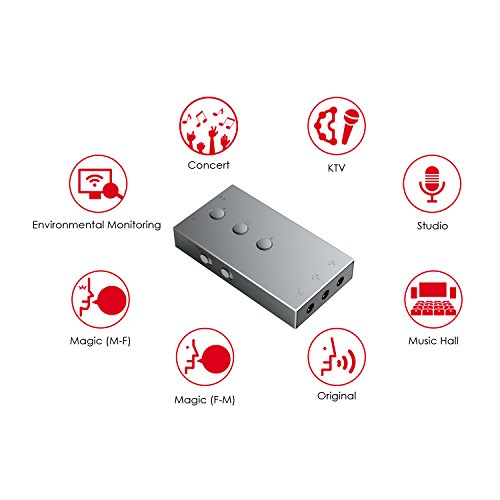 BC Master Karaoke System Smartphone Sound Card for Karaoke Night Everyday Carry Technology DSP with Micro USB Port Charging Easily, for Live APP Lecture Performance by BC Master (Image #4)