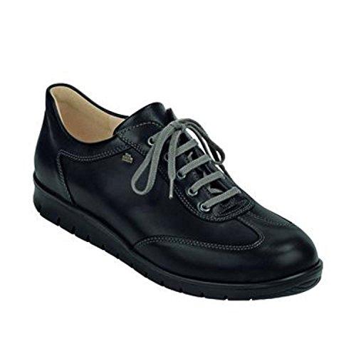 Finn Comfort Mens Kiruna Nubuck Shoes negro