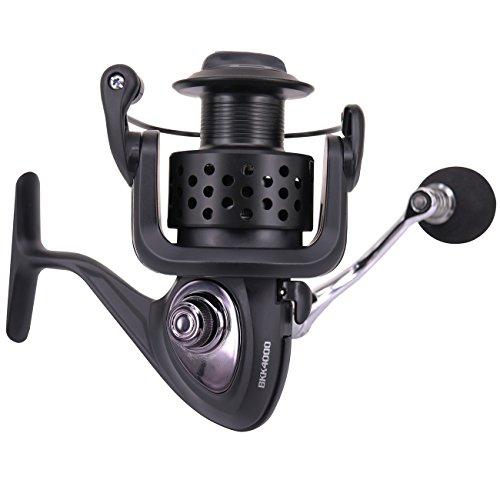 Himenlens Himenlens BK-K Fishing Spinning Reel CNC Integrated Carbon Fiber Brakes Anti-Corrosion Black Fashion Matte 4000 price tips cheap