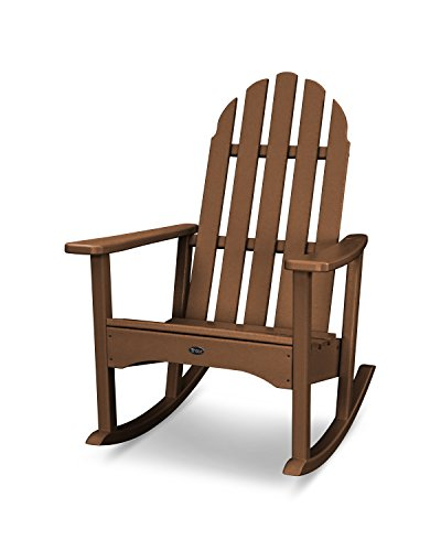 Trex Outdoor Furniture Cape Cod Adirondack Rocking Chair in Tree House