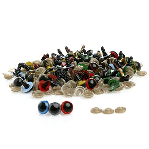 China New 100pcs 18mm 7 Colors Plastic Safety Eyes For Te...