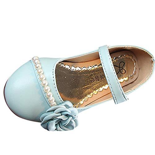 Tantisy ♣↭♣ Baby Shoes Boys  Fashion Kids Floral Pearls Princess Shoes Roman Shoes Non-Slip Soft Sole Single Shoes -