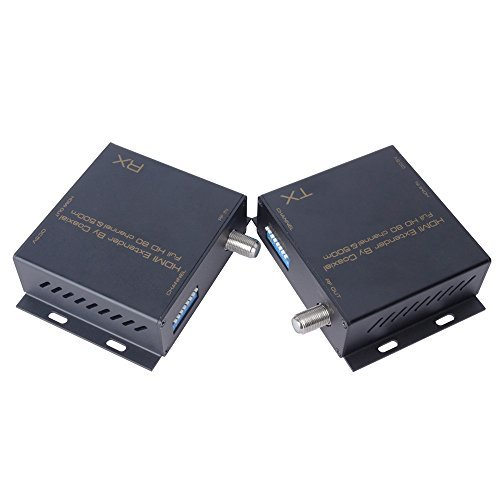 HDMI Extender By Coaxial Full HD up to 80 channel&500m.Support HDMI resolution up to 1080P/60Hz.Support 80 channels for option; frequency ranges 139MHz~950MHz. by NOGA