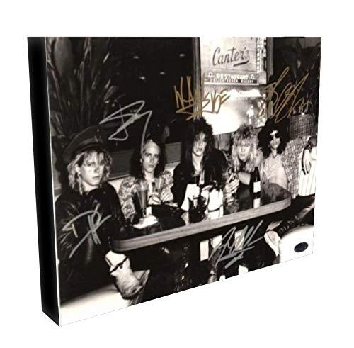 - Guns N' Roses Autographed RP 11x14 Canvas Print Wall Art