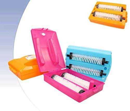 Takestop® - Set de 2 cepillos dobles recogemigas para mesa, color ...