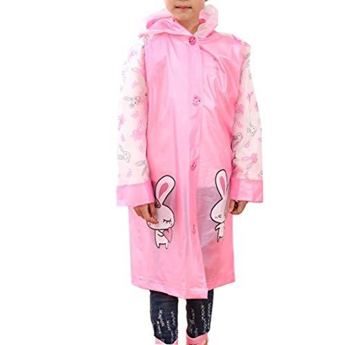 Respirant Chapeau Réfléchissantes Imperméable Enfant Style Pour L'eau Au Gonflable Fête De Poncho Et À Vent Rayures Pink Avec Dos qwXOwZxC