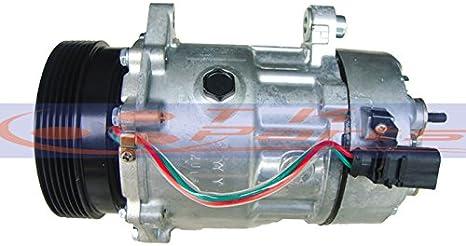 AC Compressor Control Solenoid Valve for VW Audi Volkswagen 6EU12 6SEU12 7SEU1