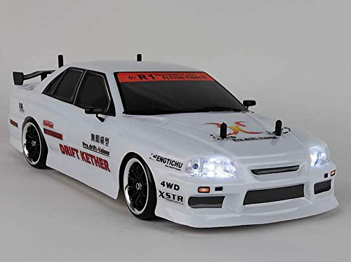 VRX X-Ranger 1/10 Scale RC Drift Car 4WD Street Touring Sedan w/LED Light Kit RH1025DL ()