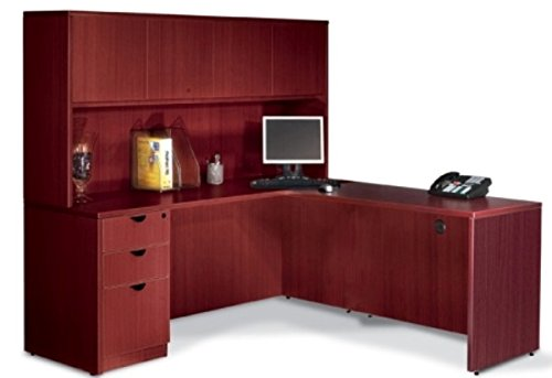 Offices To Go L Shaped Desk W/Hutch Overall Office Desk Dimensions: 71