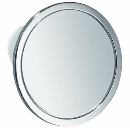 InterDesign 67102 Chrome Fog Free Shower Mirror