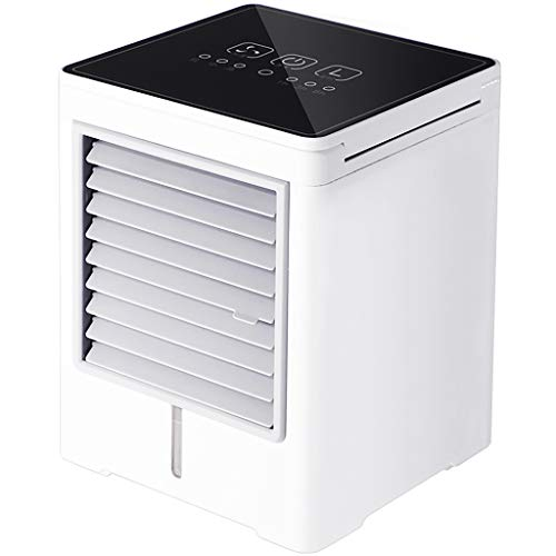 Air cooler Clearance , New USB Charging Full Screen Feel Smart Mini Portable Air Conditioning Fan Air by Little Story Clearance
