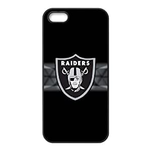 Oakland Raiders Logo iPhone 5 5s Cell Phone Case Black BN6746464