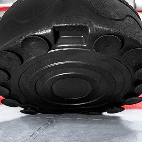 MORFIT Saco de boxeo con soporte de pie y base de succi/ón duradera para adultos y j/óvenes bolsa de kickboxing pesada