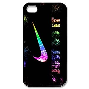 SUUER just do it Colorful rainbow Custom Hard Case for iPhone 4 4s Durable Case Cover
