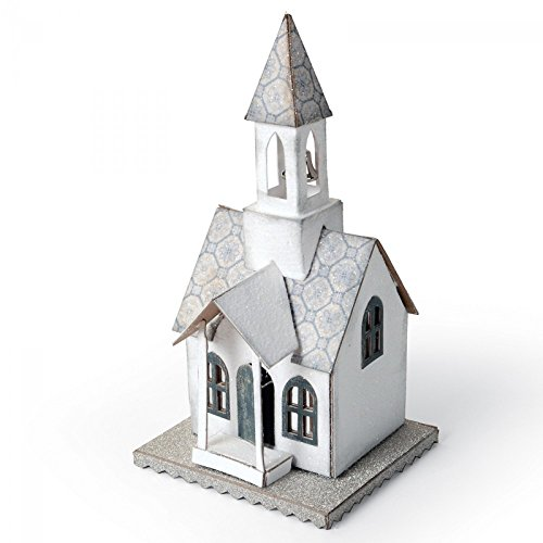 Sizzix 660987 Bigz Die Village Bell Tower By Tim Holtz