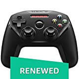 SteelSeries Nimbus Wireless Gaming Controller for Apple TV, iPhone, iPad, iPod touch, Mac(Renewed)