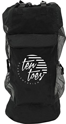 Ten Toes Board Carrying Sack Black