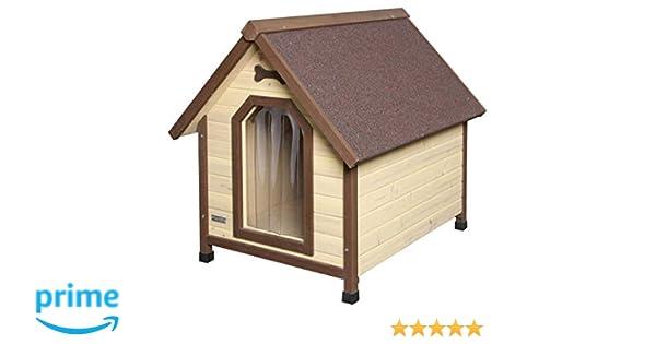 Kerbl Casita de perro 4-Seasons 100 x 83 x 94 cm: Amazon.es: Productos para mascotas
