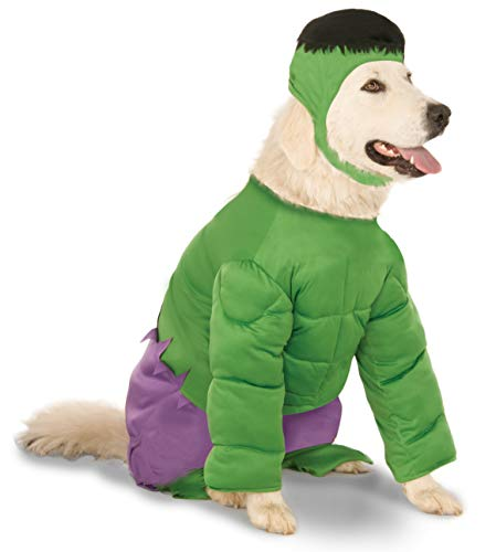 Hulk Halloween Costume For Dogs (Marvel Universe The Incredible Hulk Big Dog Boutique Costume,)