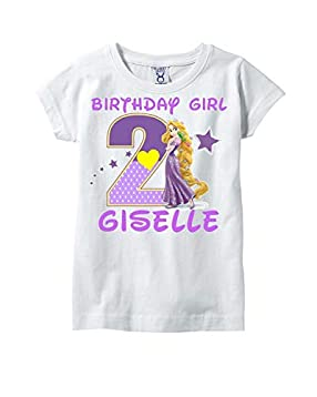 0abf85fb7729f Amazon.com: Rapunzel Birthday Shirt, Rapunzel Birthday Shirt For ...